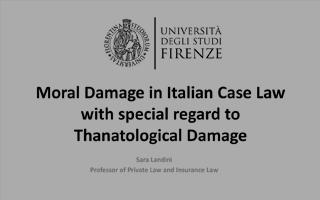 Prof. Sara Landini előadása